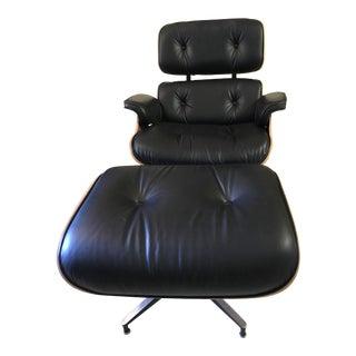 Eames Lounge Chair & Ottoman - A Pair