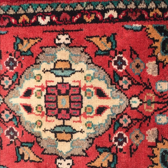 Hamadan Persian Rug - 1′6″ × 2′ - Image 5 of 8