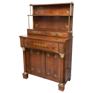 19th Century Regency Mahogany Chiffonier Secretaire For Sale