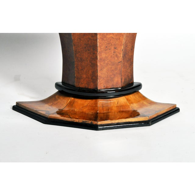 Art Deco Pedestal Console Table For Sale - Image 11 of 11