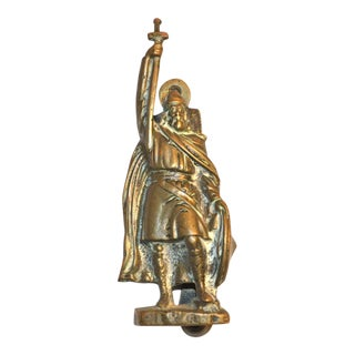 'Alfred the Great' Brass Door Knocker For Sale