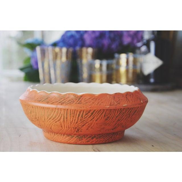 Golden Decorative McCoy Bowl - Image 2 of 6