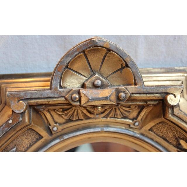 Antique Renaissance Revival Gilt Wood Mirror - Image 5 of 8
