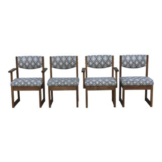 Mid Century Drexel Heritage Dining Chairs- Set of 4 For Sale