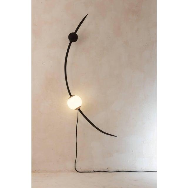 "Contemporary JéRôMe Pereira, ""C"", Unique Sculpted Lighting For Sale - Image 3 of 4"