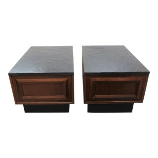 Mid Century Modern Adrian Pearsall end tables For Sale