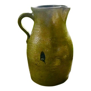 Mid 19th Century Southern Pottery Pitcher For Sale
