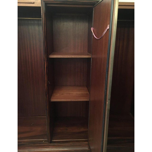 1930s Art Deco De Coene Belgian Cabinet Wardrobe For Sale - Image 9 of 13