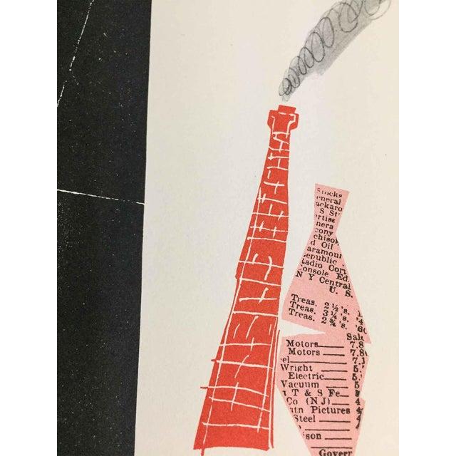 "Paul Rand Original Serigraph ""Avante-Garde Design"" Framed Print For Sale - Image 4 of 5"