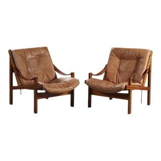 Thorbjørn Afdal Armchairs- A Pair For Sale