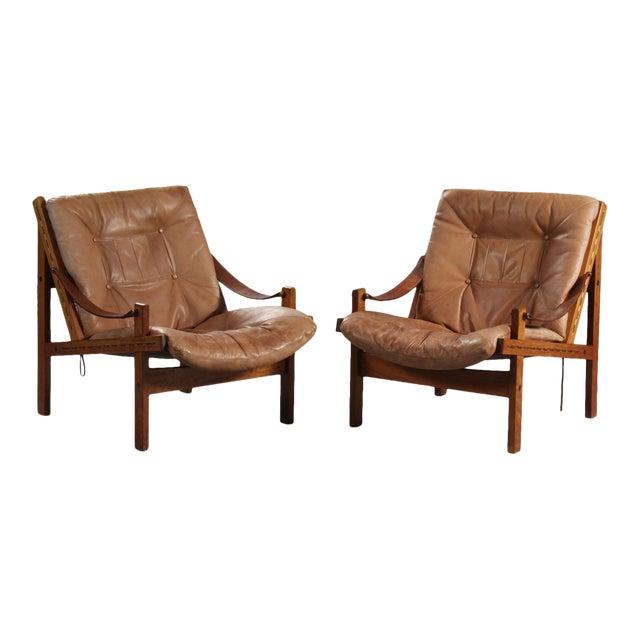 Thorbjørn Afdal Armchairs- A Pair For Sale
