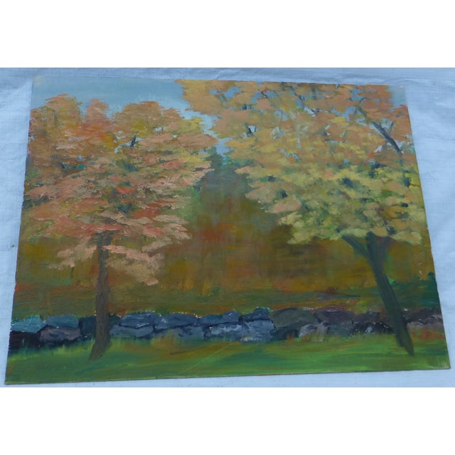 MCM Painting of New England Trees by H.L. Musgrave - Image 2 of 6