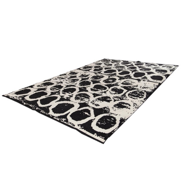21st Century Modern Moroccan Style Wool Rug For Sale - Image 11 of 13