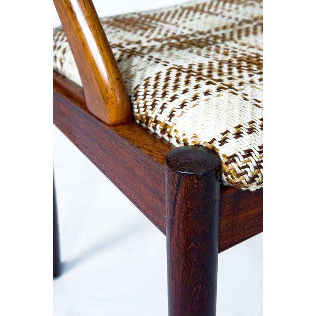 Set Of 6 Rosewood Kai Kristiansen Dining Chairs - Image 10 of 10