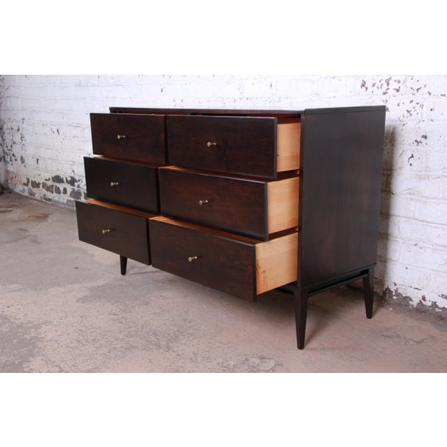 Birch Paul McCobb Planner Group Mid-Century Modern Six-Drawer Dresser For Sale - Image 7 of 13