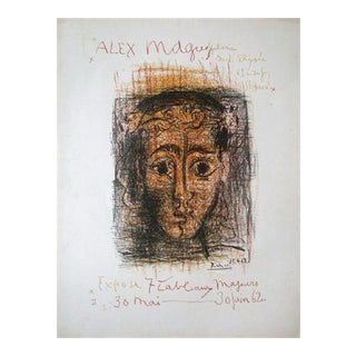 Pablo Picasso Original Exposition Poster Maguy Galerie