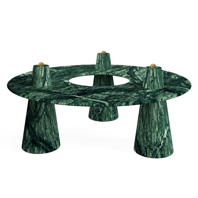 Troy Smith Designs Orbit Coffee Table by Artist Troy Smith - Contemporary Design - Artist Proof - Custom Furniture - Limited Edition For Sale - Image 4 of 4