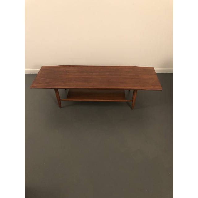 Mid Century Vintage Danish Teak Coffee Table For Image 4 Of 9