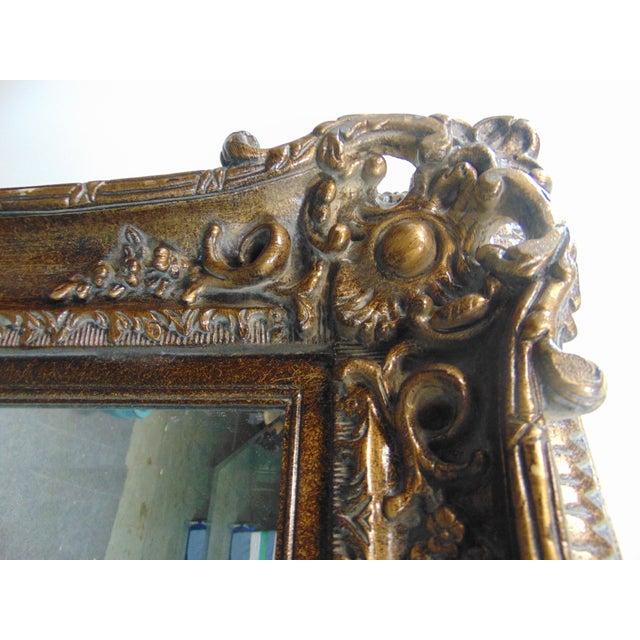 Rococo Italian Rococo Style Beveled Glass Mirror For Sale - Image 3 of 5