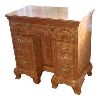 Early American Edmund Townsend Kneehole Executive Desk For Sale