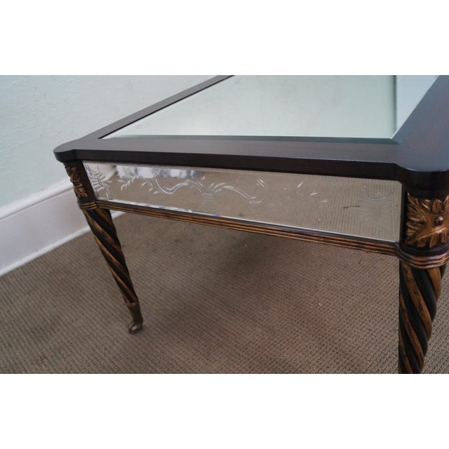 Regency Style Mirror & Gilt Claw Foot Coffee Table - Image 2 of 10