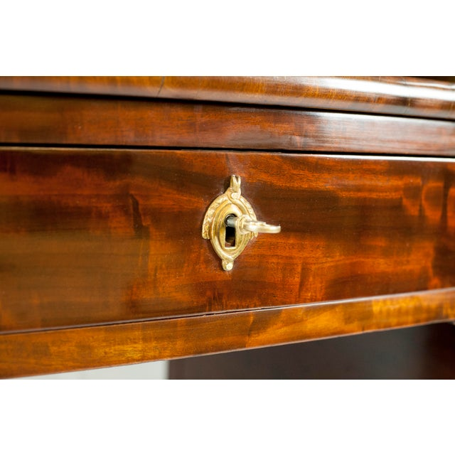 Metal 19th Century Louis XVI Cylinder Bureau For Sale - Image 7 of 13