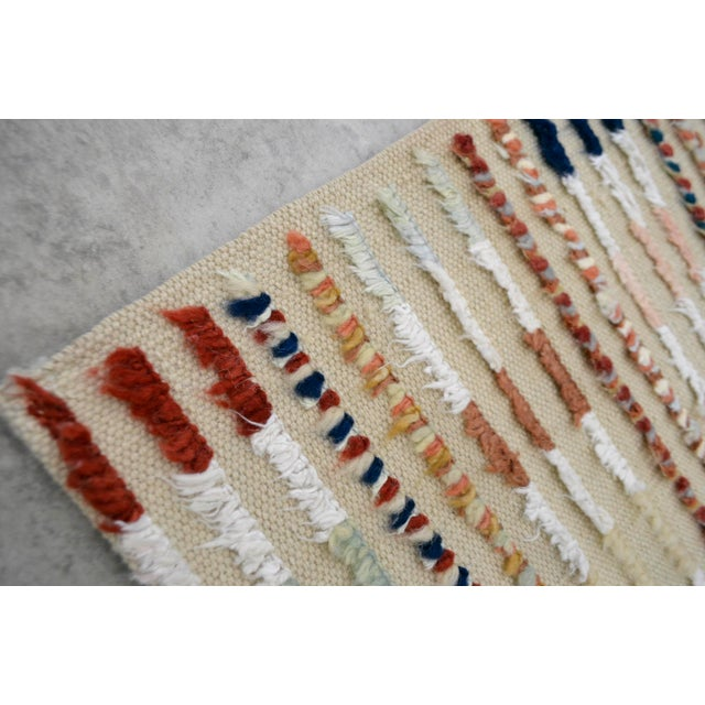 Hand Knotted Oushak Runner Rug - 2′8″ X 9′10″ - Image 9 of 10