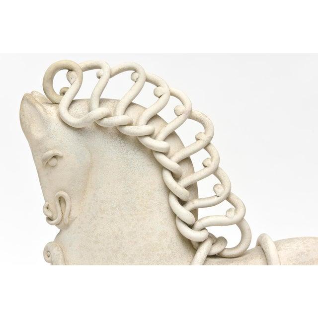 Italian Ceramic Horse by Colette Guedin for Primavera For Sale In Miami - Image 6 of 10