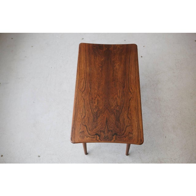 1960s Vintage Rosewood Coffee Table by Kurt Østervig for Jason Møbler For Sale In New York - Image 6 of 11