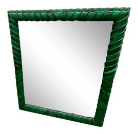 Image of Newly Made Green Wall Mirrors