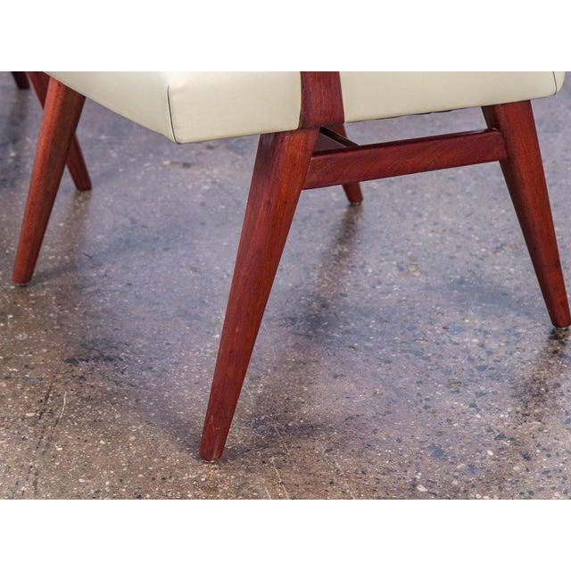 Jens Risom Model 108 Walnut Side Chairs - Image 9 of 11