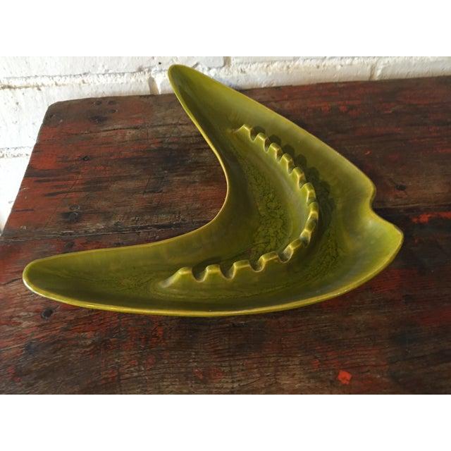 Green Boomerang Ashtray - Image 4 of 7