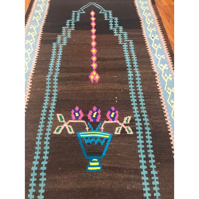 1970s Turkish Vintage Kilim Prayer Rug For Sale - Image 5 of 8