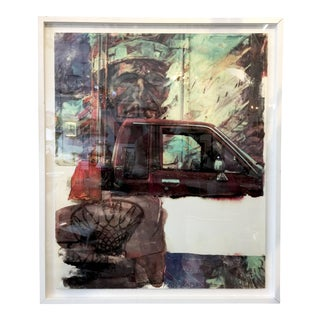 "Robert Rauschenberg ""Angel Food"" Screen-Print on Paper, Circa 2000 - 5oth Anniversary Sale For Sale"