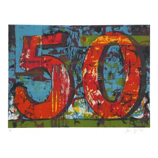 Aaron Fink - 50 Lithograph For Sale