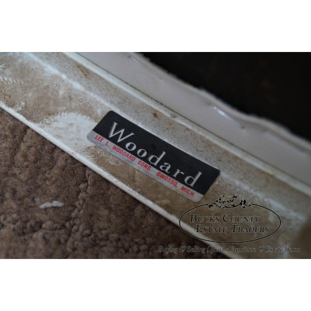 Woodard Vintage Metal Swivel Bar Stools - Set of 3 - Image 4 of 10