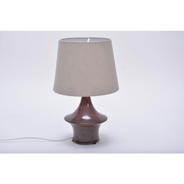 Søholm Stentøj Vintage Ceramic Table Lamp From Søholm Stentoj For Sale - Image 4 of 4