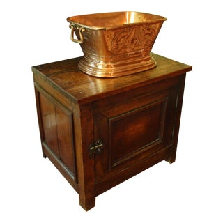 Country French Lavabo With Stand, Late 19th Century For Sale