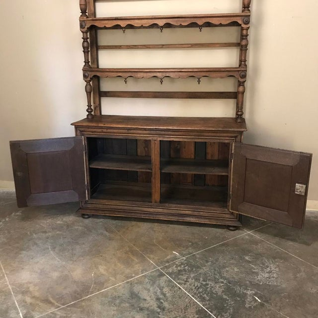 Wood 19th Century Italian Rustic Country Vaisselier For Sale - Image 7 of 11