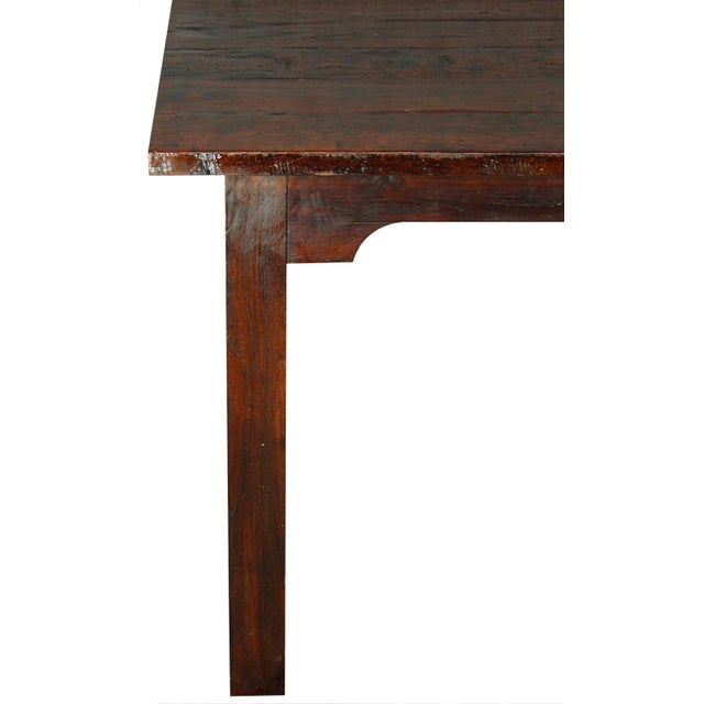 French Country Plank-Top Dining Table - Image 2 of 8