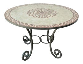 Image of Moroccan Outdoor Dining Tables