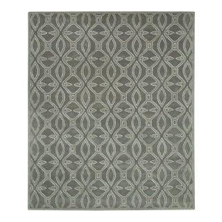 Gray Geometric Glam Rex Rug - 5' x 8'