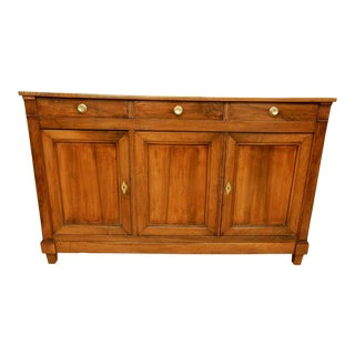 Early 19th C. Directoire' Walnut Enfilade For Sale