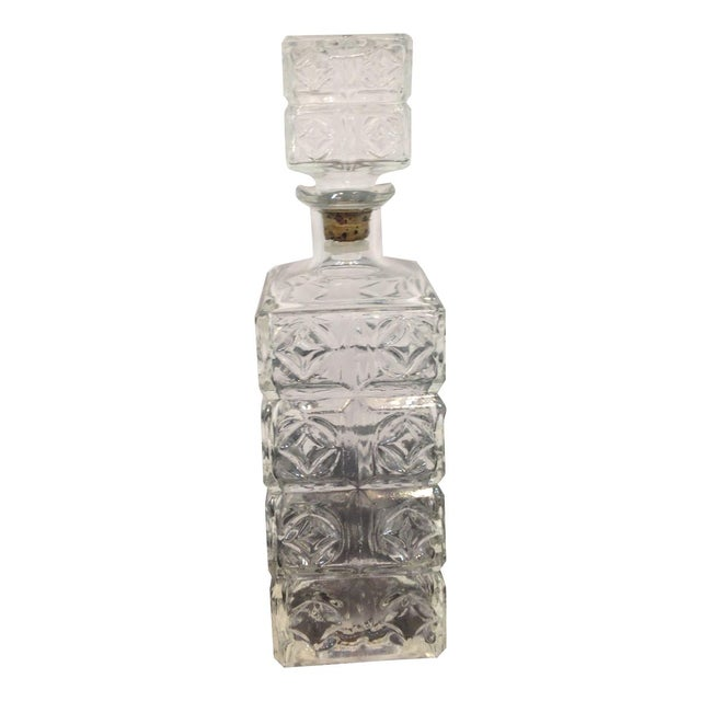 Vintage Cut Glass Decanter - Image 1 of 4