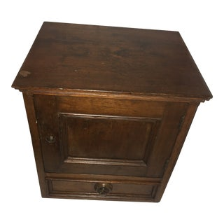 Vintage Small Mahogany Cabinet For Sale