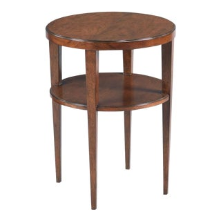 Modern Bordeaux Finish Provence Drink Table For Sale