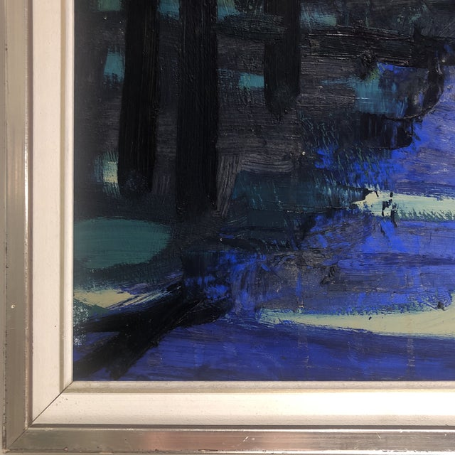 """""""Twilight at the Edge of the Forest"""" Painting For Sale In Houston - Image 6 of 13"""