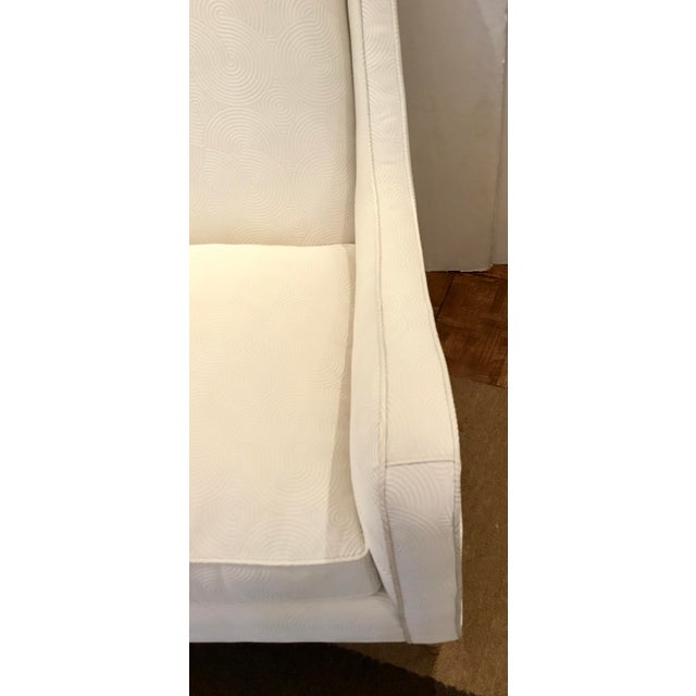 Caracole Caracole Modern White Just Wing It Club Chair Prototype For Sale - Image 4 of 7