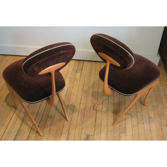 Metal Pair of Lounge Chairs by Jordan Mozer For Sale - Image 7 of 8