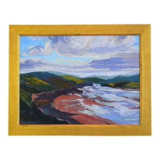 Ray Cuevas, Plein Air River Landscape Oil Painting